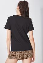 Factorie - Basic T-shirt - black