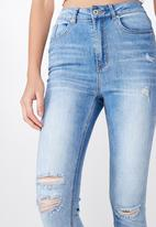Factorie - The skinny high rise jeans - blue
