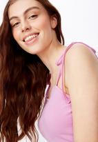 Factorie - Side split dress - pink
