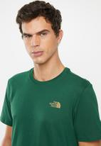 The North Face - Simple dome tee short sleeve tee - green