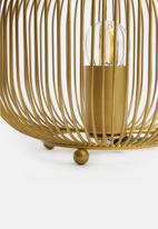 SF Collection - Cage table lamp - gold