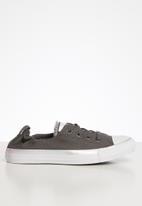 Converse - CTAS Shoreline color shift slip - carbon grey / white