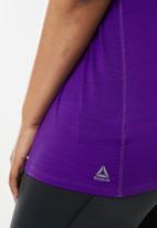Reebok - Curve activchill tee - purple