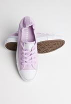 Converse - CTAS Shoreline color shift slip - lilac mist/white/white