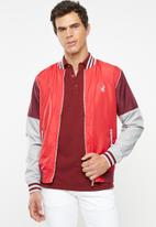 POLO - Polo sport rod cut & sew jacket - multi