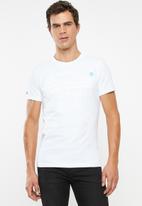Superdry. - Premium goods tonal tee - white