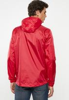 Superdry. - Offshore packable cagoule - red
