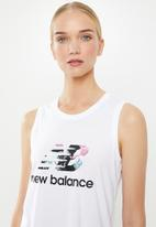 New Balance  - In bloom tank top - white