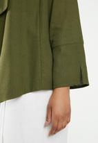 edit Plus - Soft jacket - khaki