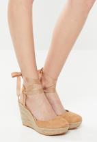 Superbalist - Molly espadrille wedge - neutral