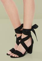 Superbalist - Yves heel - black