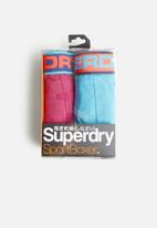 Superdry. - Sport 2 pack boxers - multi