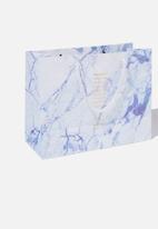 Typo - Stuff it gift bag - medium - thank you blue marble