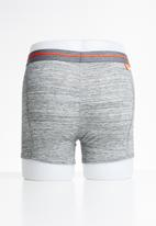 Superdry. - Sport 2 pack boxers - grey & red