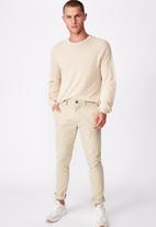 Cotton On - Skinny stretch chino - neutral
