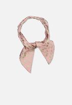 Cotton On - The tie headband - pink & gold
