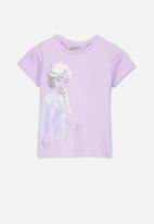 Cotton On - Lux short sleeve - purple