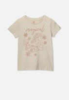 Cotton On - Penelope short sleeve - beige