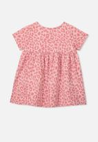 Cotton On - Milly short sleeve dress - pink