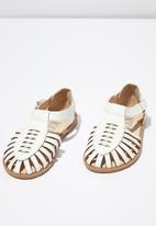 Cotton On - Liana sandal - white