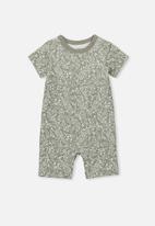 Cotton On - The short sleeve romper - khaki