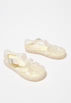 Cotton On - Jelly sandal - transparent & gold