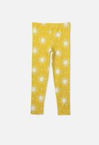 Cotton On - Huggie tights - yellow