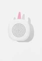 Typo - Novelty wireless speaker - white
