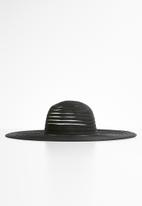 Superbalist - Selma straw hat - black