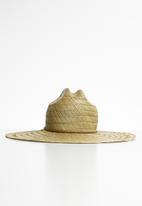 Superbalist - Coco straw hat - natural