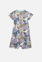 Cotton On - Harpa short sleeve pj set - multi