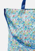 Cotton On - Printed tote bag - blue floral