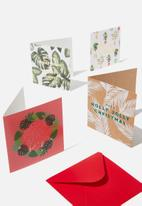 Typo - 20 christmas card pack 2019 - multi