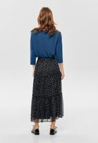 ONLY - Kim maxi woven skirt - navy