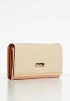 Pierre Cardin - Olivia purse - natural & pink