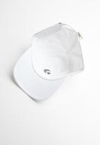 Converse - Lock up baseball hat - white & black