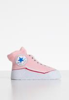 Converse - Converse chuck bootie - grey & pink
