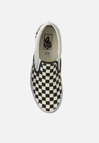 Vans - Uy classic slip-on - (checkerboard) black/beige/white