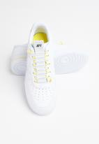 Nike - Air Force 1 '07 Lux - white-chrome yellow-black