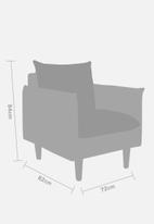 Sixth Floor - Hector single seater - grey