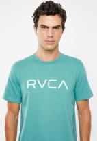 RVCA - Big RVCA short sleeve tee - turquoise