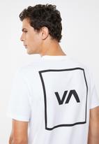 RVCA - RVCA box short sleeve tee - white