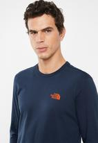 The North Face - Easy long sleeve tee - navy