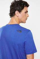 The North Face - Simple dome short sleeve tee - blue