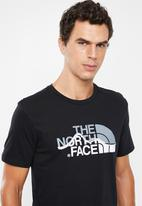 The North Face - Mountain line short sleeve tee - black