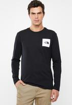 The North Face - Easy long sleeve tee - black