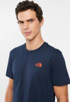 The North Face - Short sleeve simple dome tee - navy