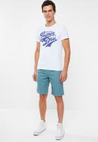 Superdry. - Heritage classic tee - white