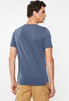 Superdry. - Dry originals pocket tee - blue