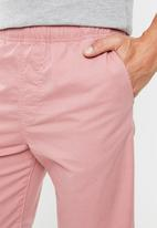 Superdry. - World wide chino shorts - pink